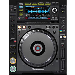 Player Pioneer CDJ200 Nexus